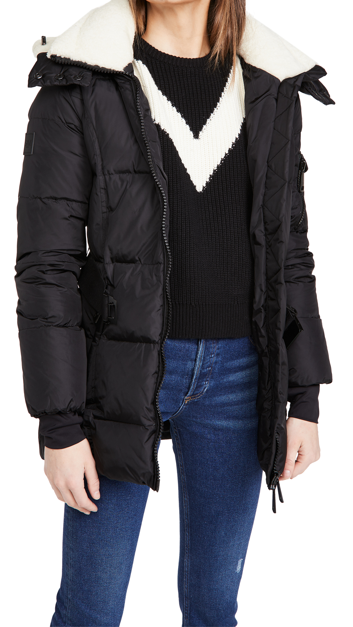 SAM. Casey Jacket with Shearling