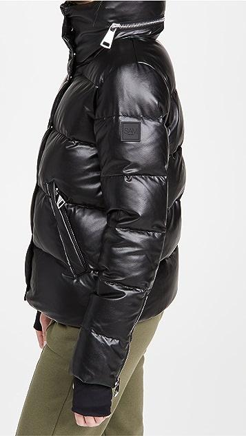 SAM. Vegan Leather Isabel Jacket