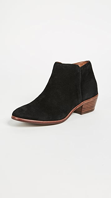 55bacec87373 Sam Edelman Petty Suede Booties