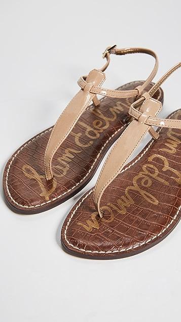 72b0b08e6c56 ... Sam Edelman Gigi Patent T Strap Sandals ...