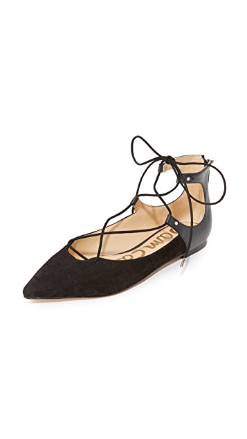 Sam Edelman Rosie Lace Up Flats