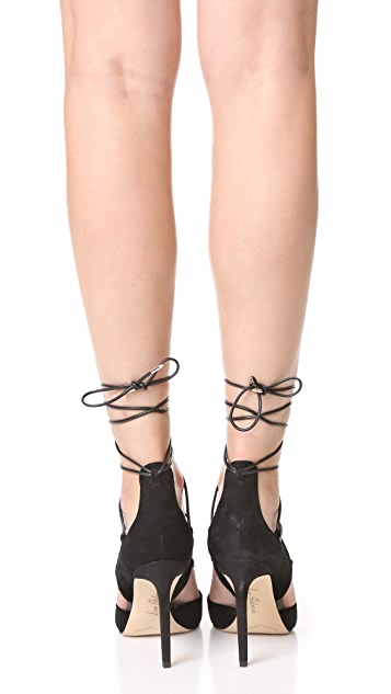 Sam Edelman Helaine Lace Up Pumps