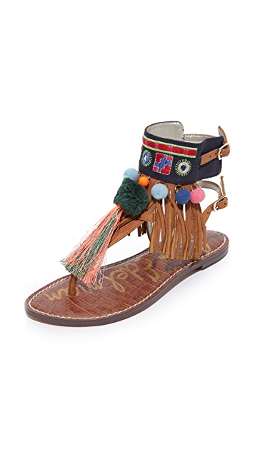 ae28993d79d7f0 Sam Edelman Gere Tasseled Sandals
