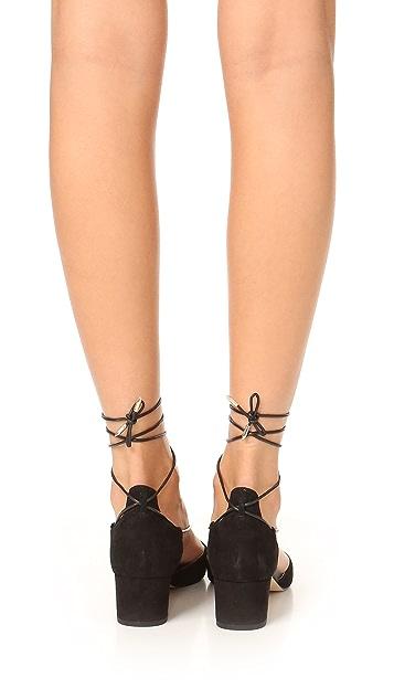 Sam Edelman Loretta Lace Up City Heels