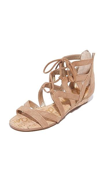 b4a28e158 Sam Edelman Dawson Wedge Sandals ...
