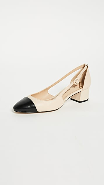 Leah Cap Toe Pumps by Sam Edelman