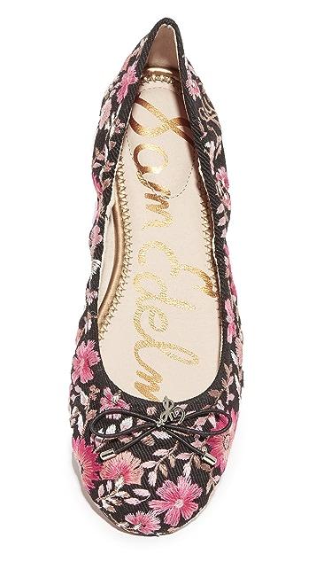 Sam Edelman Felicia Embroidered Flats
