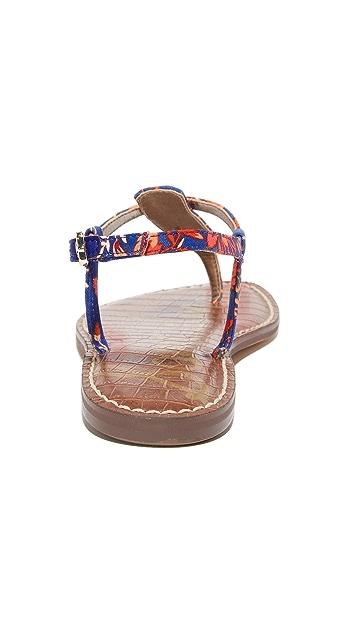 Sam Edelman Gigi Floral Printed Sandals
