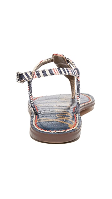 Sam Edelman Gigi Striped Sandals