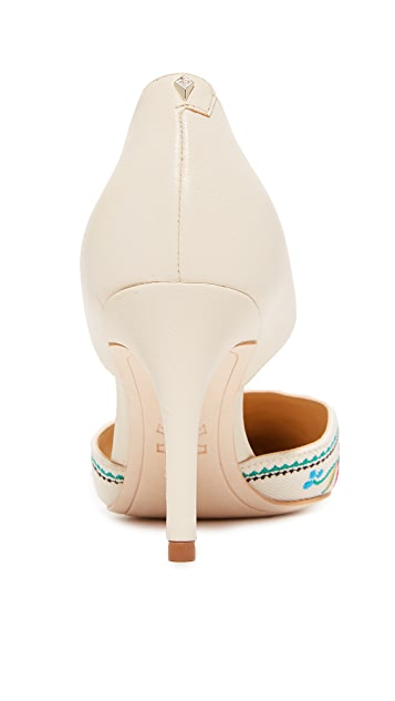 Sam Edelman Telsa II Embroidered Pumps
