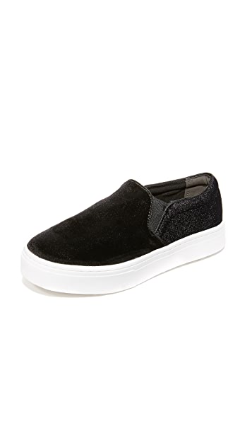 6941a0e7e Sam Edelman Lacey Velvet Slip On Sneakers