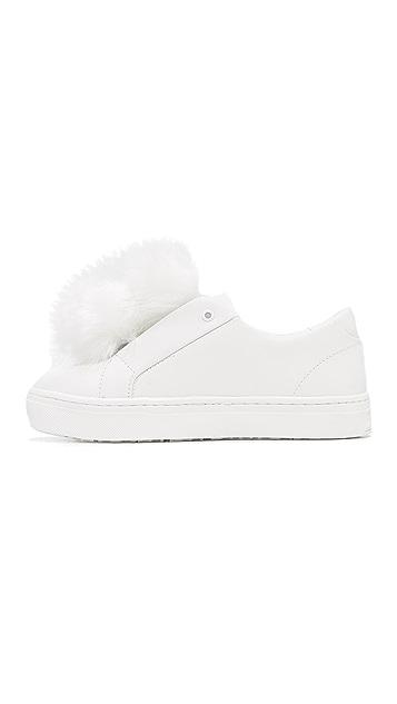 Sam Edelman Leya Pom Pom Sneakers