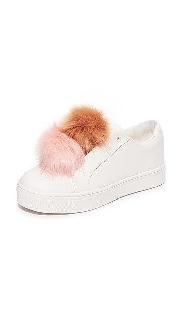 c27c4e36e456 Sam Edelman Leya Pom Pom Sneakers