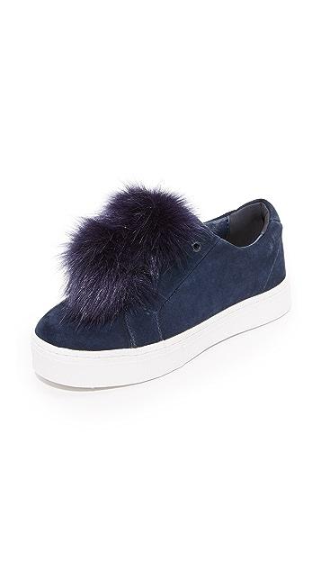 35c93926314ad Sam Edelman. Leya Pom Pom Sneakers