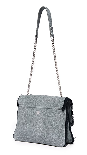 Sam Edelman Asher Shoulder Bag with Fringe