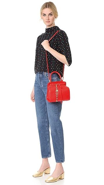 Sam Edelman Миниатюрная сумка Natalya с ручкой сверху
