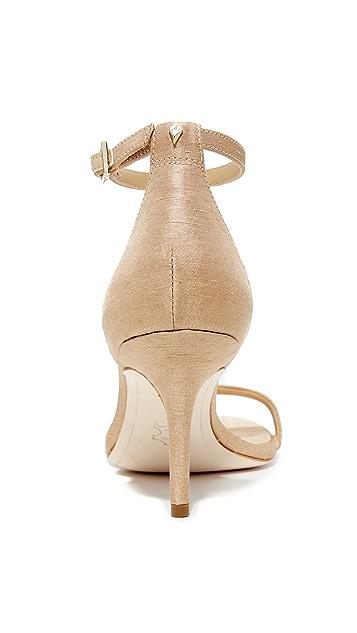 Sam Edelman Patti Silk Dupioni Sandals
