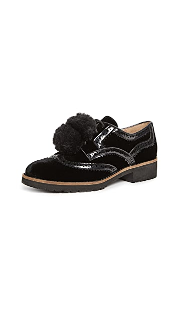 Sam Edelman Dahl Pom Pom Oxfords