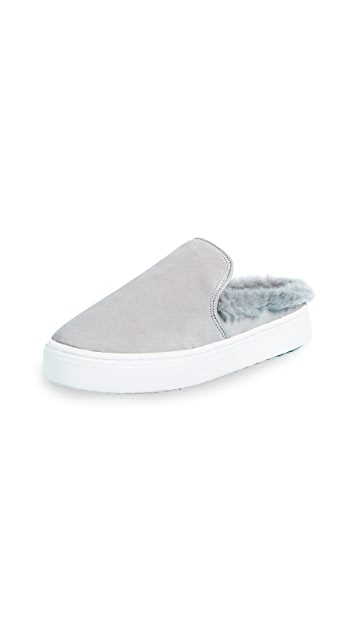 Sam Edelman Levonne Faux Fur Slip On Sneakers