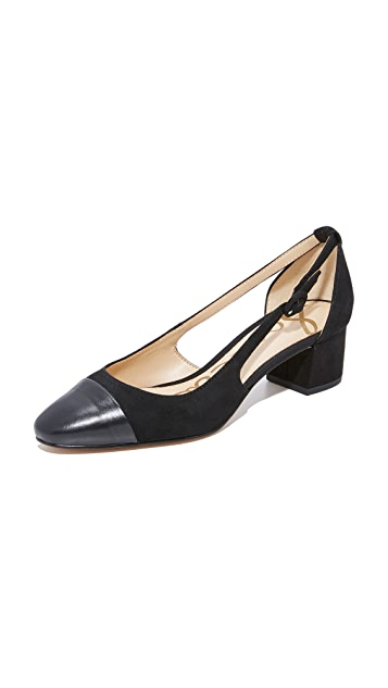 Sam Edelman Leah Cap Toe Pumps