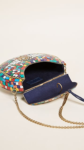 Sam Edelman Tatiana Multi Hard Case Cross Body Bag