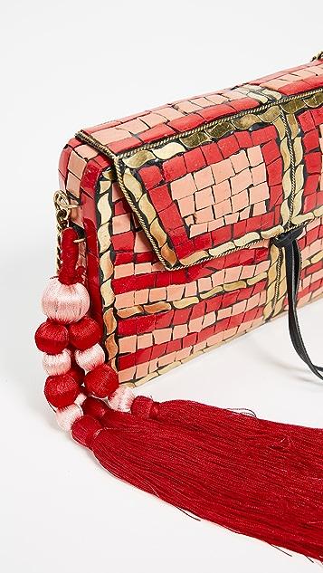 Sam Edelman Tarian Metal Box Bag