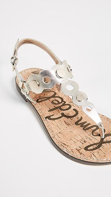 776a213697ed96 ... Sam Edelman Gilly Flat Sandals ...