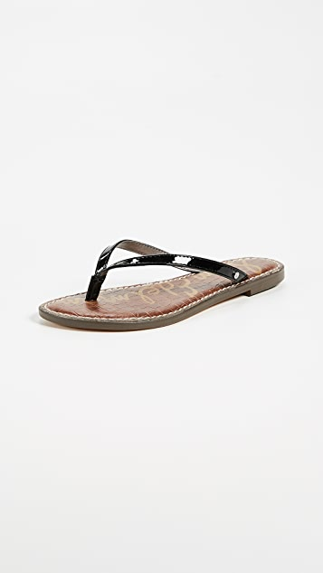 83055b3ea7304 Sam Edelman Gracie Thong Sandals