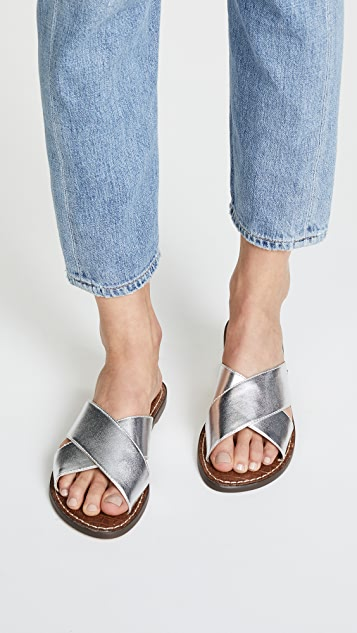 Sam Edelman Gertrude Leather Sandal Zhv9MXA
