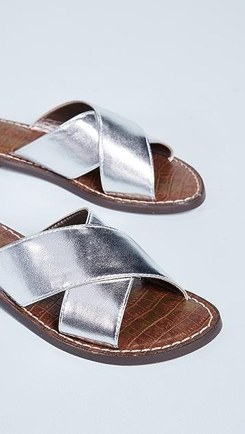 Sam Edelman Gertrude Crisscross Slides