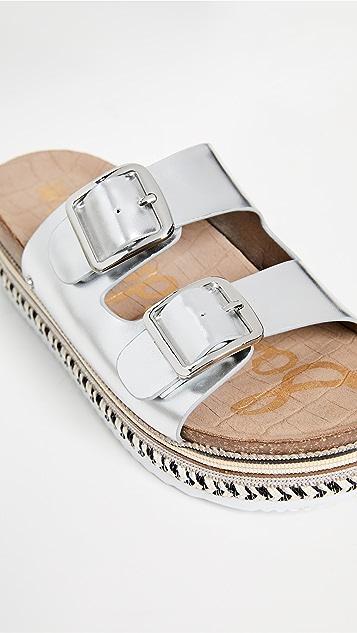 Sam Edelman Oakley Platform Slides