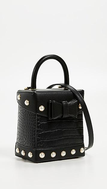 855eb910e Sam Edelman Charlie Croc Box Bag | SHOPBOP