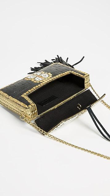 Sam Edelman Saksia Mosaic Box Clutch