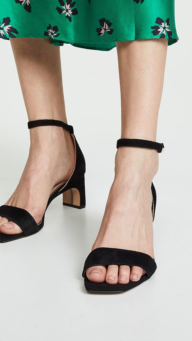Sam Edelman Womens Holmes Heeled Sandal