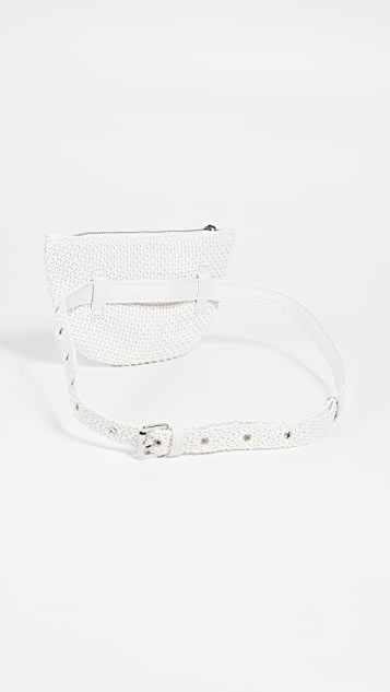 Sam Edelman Darcy Raffia Belt Bag