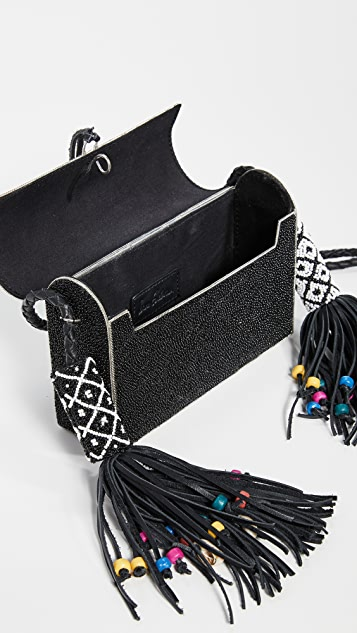 Sam Edelman Indigo Metal Hardcase Bag