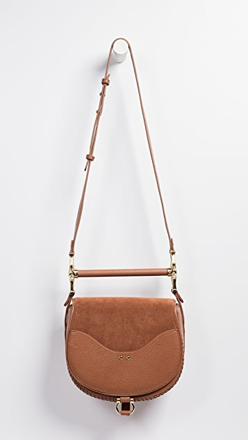 SANCIA Babylon Bar Bag Suede