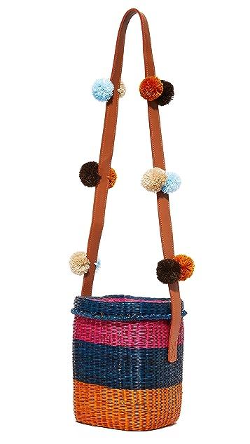 Sophie Anderson Flores Basket Bag