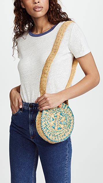 Sophie Anderson Gia Woven Shoulder Bag