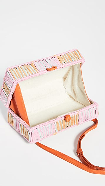 Sophie Anderson Вечерняя сумка на руку Mia с вышивкой