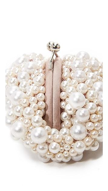 Santi Imitation Pearl Clutch