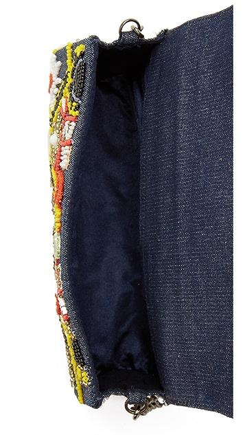 Santi Embroidered Clutch
