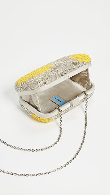 Santi Beaded Minaudiere
