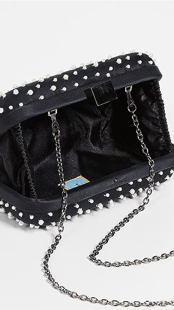 Santi 人造珍珠手包