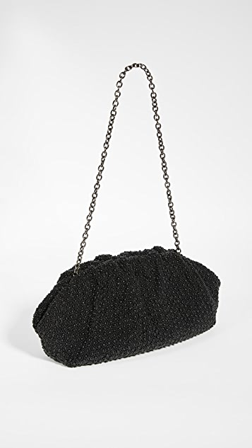 Santi 超大黑色手拿包