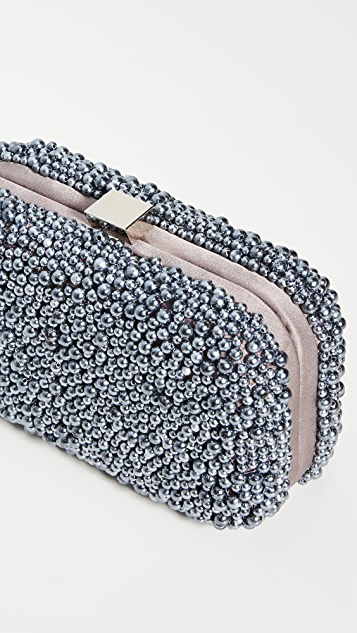 Santi 灰色珍珠手拿包