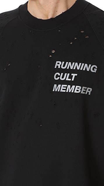Satisfy Cult Moth Eaten Sweatshirt