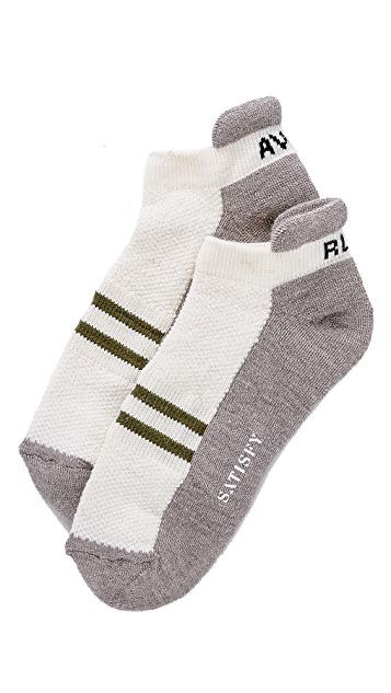 Satisfy Patchwork Ankle Socks