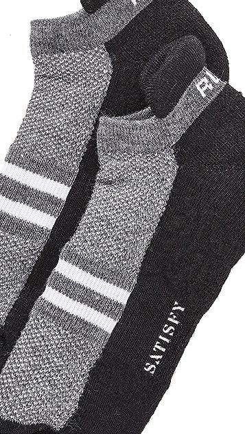 Satisfy Patchwork Ankle Socks