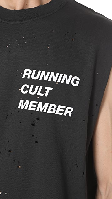 Satisfy Cult Moth Muscle Tee